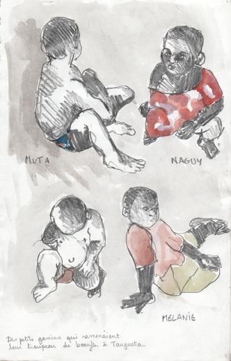 enfants à Tangueta