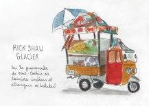 rickshaw glacier