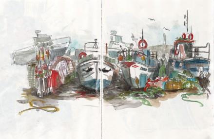 Le petit port d'Ericeira